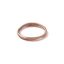 Ippolita 18k Rose Gold Matte Squiggle Ring