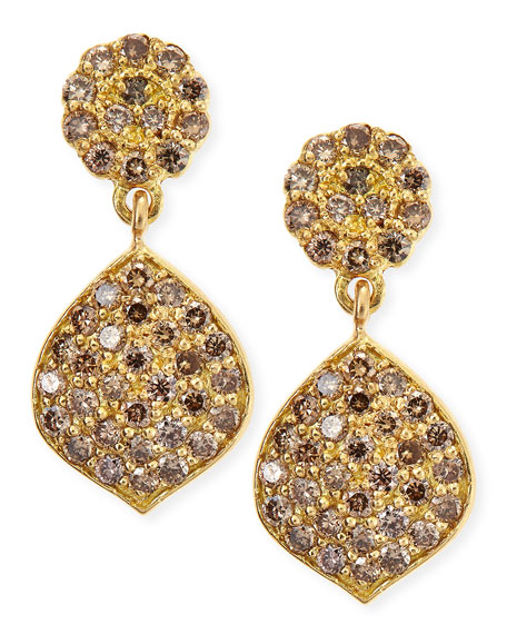 Jamie Wolf Tiny Pavé Acorn Earrings with Diamonds 4nlRj