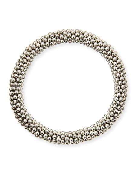 Andie Sterling Silver Bead Bracelet