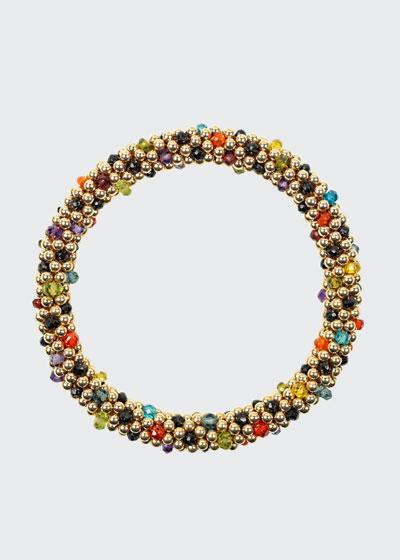 14K Mixed-Stone Bead Bracelet