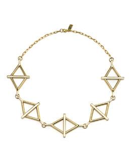 Pamela Love 14k Multi-Balance Collar Necklace
