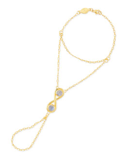 Infinite Moonstone Hand Chain