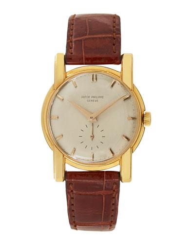 Patek Philippe 18k Yellow Gold Round Dress Watch, c. 1950s