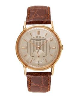 Vacheron Constantin 18k Rose Gold Round Dress Watch, c. 1950s