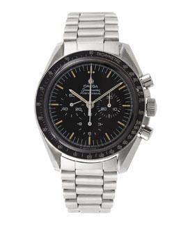 Omega Stainless Steel Speedmaster Watch, c. 1976