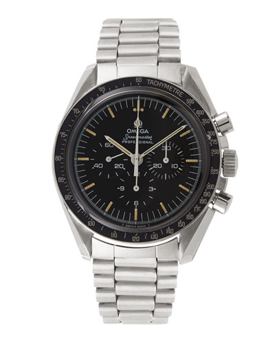 Omega Stainless Steel Speedmaster Watch, c. 1976