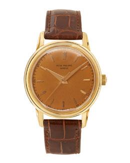 Patek Philippe 18k Yellow Gold Round Dress Watch, c. 1955-1960