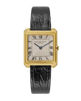 Audemars Piguet 18k Yellow Gold Rectangular Dress Watch, c. 1950s