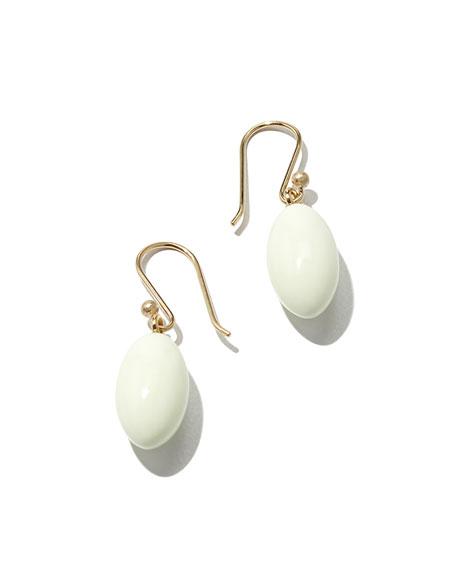 Lemon Chrysoprase Berry Earrings