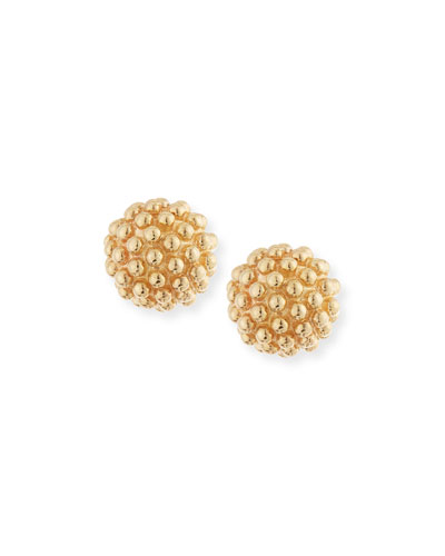 Kate 14K Gold Ball Earrings