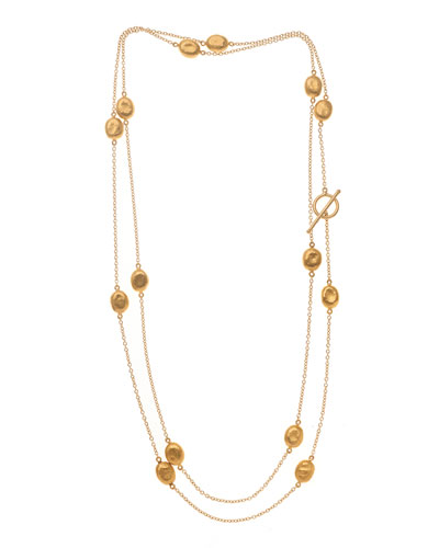 Roxanne 24K Gold Mini Wrap Necklace