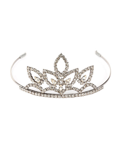 Crystal Tiara Headpiece