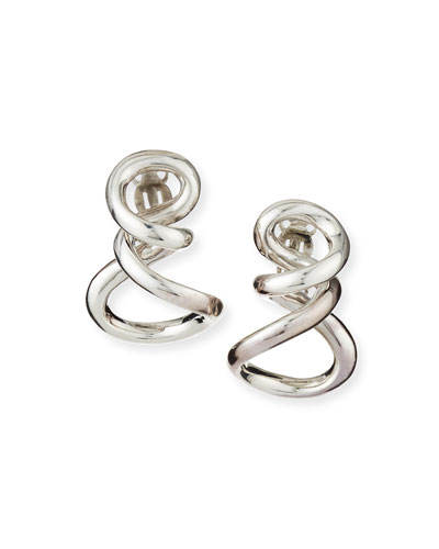 Sterling Silver Small Infinity Earrings