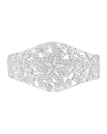 COMÈTE Bracelet in 18K White Gold with Diamonds