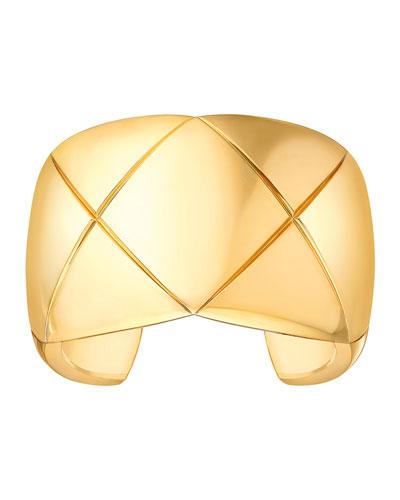 COCO CRUSH Cuff Bracelet in 18K Yellow Gold