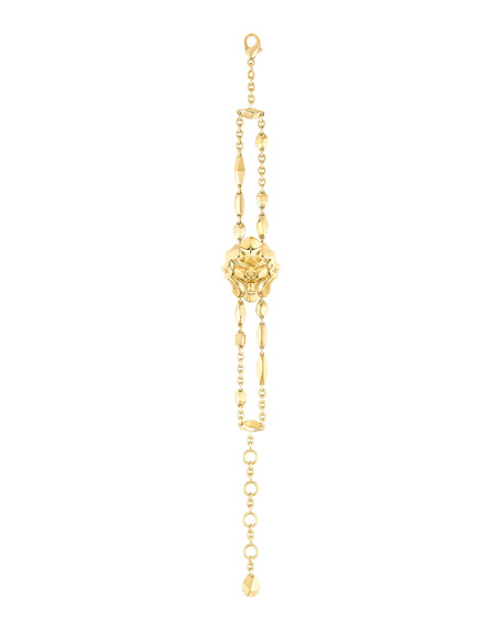 LION Bracelet in 18K Yellow Gold