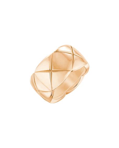 COCO CRUSH Ring in 18K Beige Gold, Medium Version