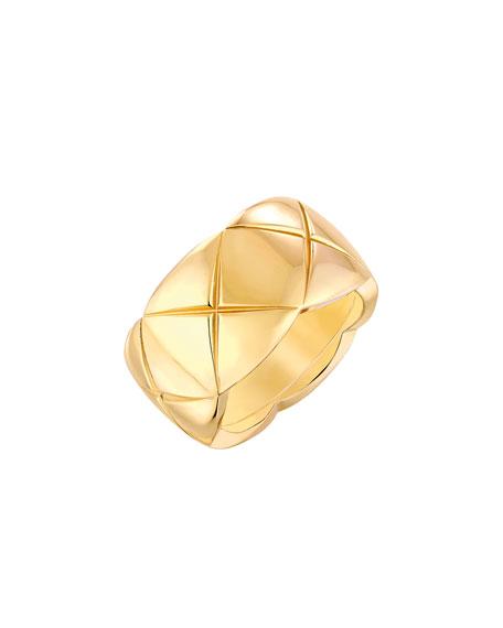 COCO CRUSH Ring in 18K Yellow Gold, Medium Version