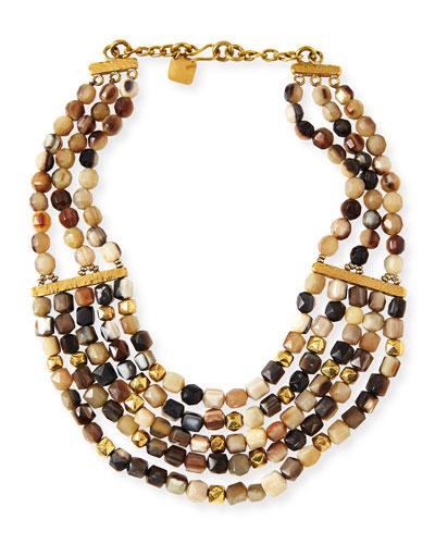 Kubwa Multi-Strand Necklace, 21