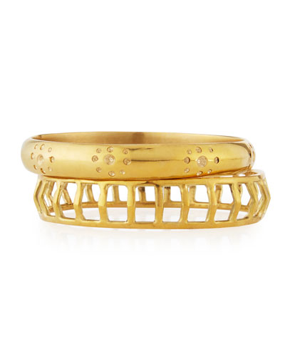 Taaluma Set of Two Bracelets