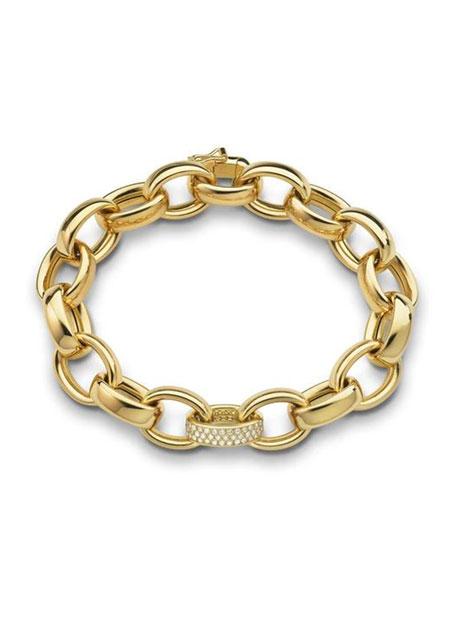 Marilyn Extra Large Ultra Pave Diamond 18k Bracelet