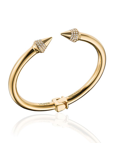Mini Titan Crystal Cuff Bracelet