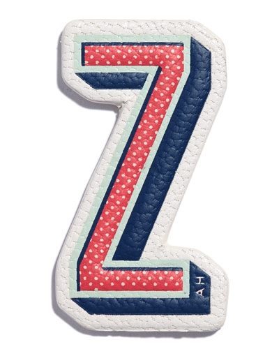 Z Leather Sticker for Handbag