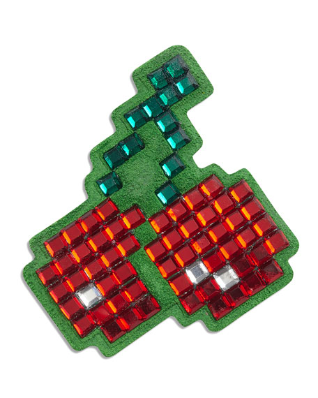 Cherries Crystal Sticker for Handbag, Red