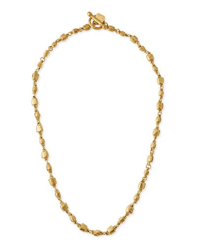 Nafsi Bronze Beaded Necklace  27