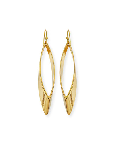 Talon 14K Gold-Plated Earrings