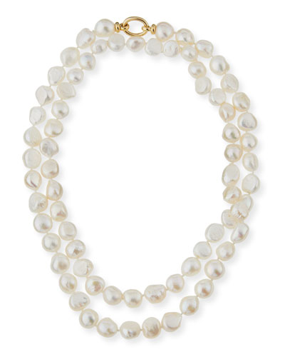 Baroque Pearl Necklace, 42