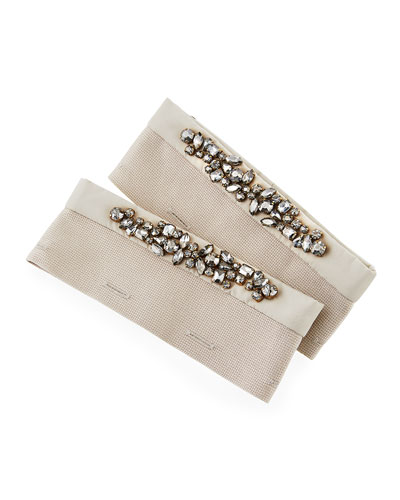 Here is the Cube Collection Mogano Detachable Crystal Cuffs
