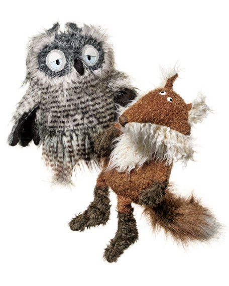 Doc Nightmare (Owl) BEAST Stuffed Animal