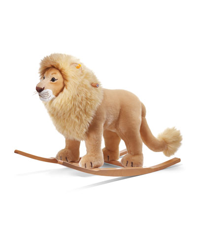 Riding Stuffed Lion