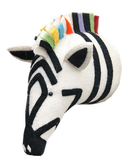 Rainbow Animal Head Wall Mount