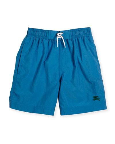 Galvin Swim Trunks, Blue, Size 4-14
