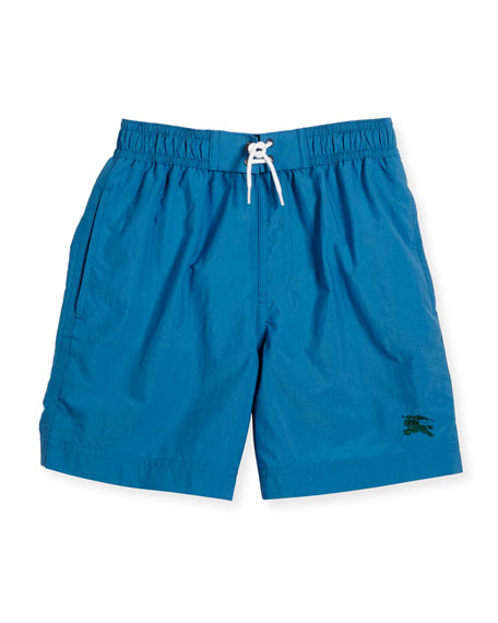 Galvin Swim Trunks, Blue, Size 4-14