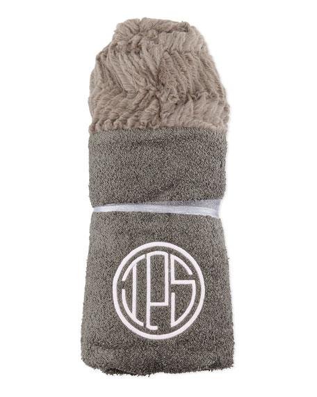 Ziggy Hooded Towel, Slate