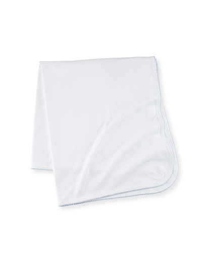 Dot Pima Baby Blanket