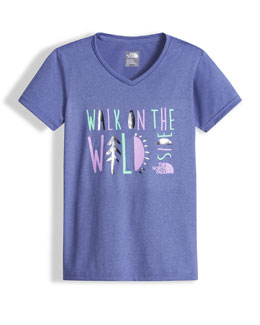 Walk On The Wild Side Reaxion Amp Jersey Tee, Blue, Size XXS-L