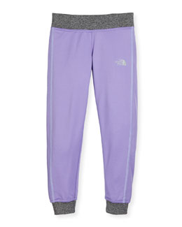 Reactor Lightweight Jersey Track Pants, Purple, Size XXS-L