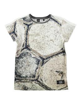 Rider Stone-Print T-Shirt, Sizes 4-12