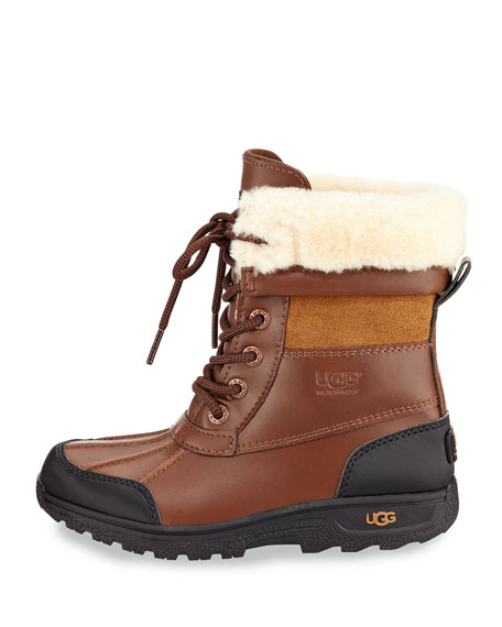 Butte II Leather Hiking Boot, Worchester, Youth