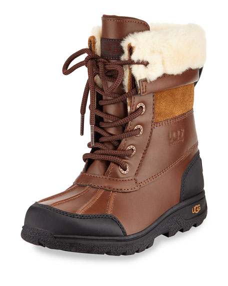 a164f1f5bf3 Butte II Leather Hiking Boot Worchester Youth