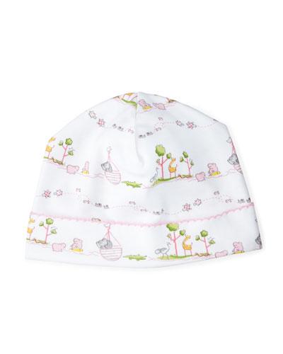 Noah's Ark Printed Pima Hat