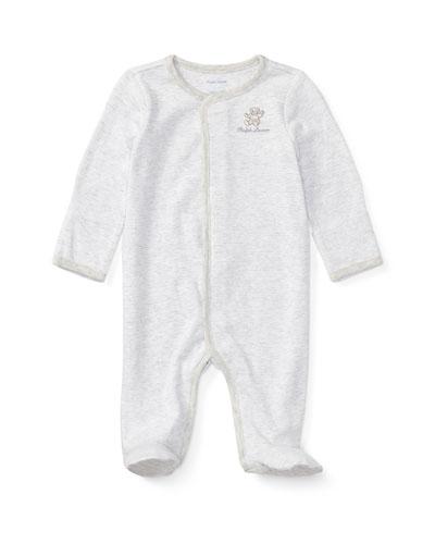 bde85b5ab Bear Embroidery Stripe Interlock Footie Pajamas Size Newborn-9 Months Quick  Look. Ralph Lauren Childrenswear