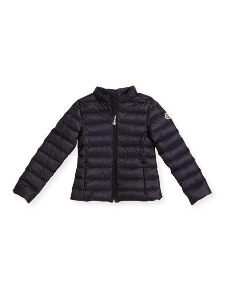 Iraida Hooded Lightweight Down Puffer Jacket, Size 4-6
