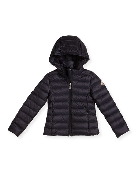 24b6eeb5fe18 Moncler Iraida Hooded Lightweight Down Puffer Jacket