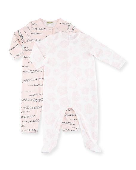 Kenzo Bara Pajama Gift Set, Pink, Size 3-9