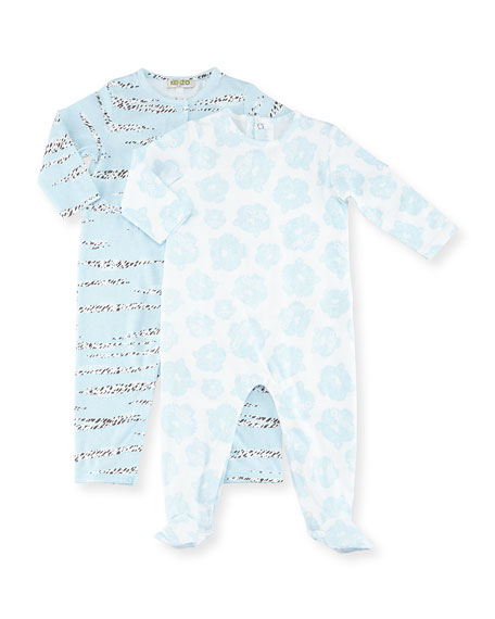 Kenzo Barou Pajama Gift Set, Light Blue, Size